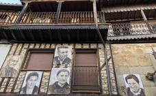 Mogarraz, el pueblo en el que las paredes te miran