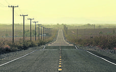 Los trayectos en línea recta más largos del mundo