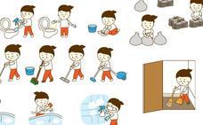 ¿Qué tareas pueden hacer los niños en casa?