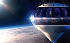 Un globo para tocar la estratosfera