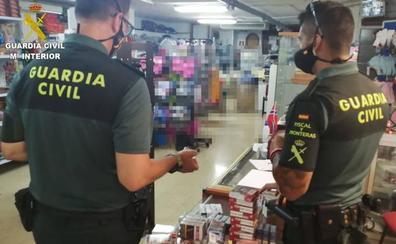 La Guardia Civil realiza una docena de inspecciones sanitarias y fiscales sobre labores del tabaco en Gran Canaria