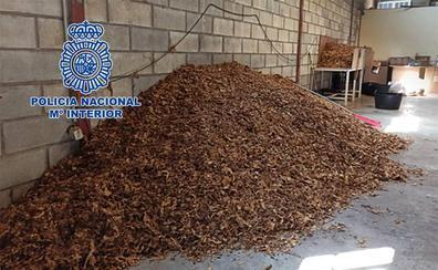 Cae una red de venta de picdura ilegal de tabaco en Ciudad Real