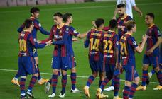 Las mejores imágenes del Barcelona-Ferencvaros