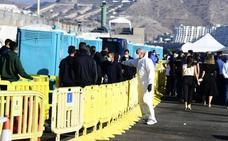 Mogán denunciará el estado del campamento de inmigrantes