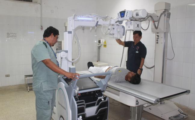 La nueva máquina de rayos X de Morro Jable comienza a funcionar el día 10 de noviembre