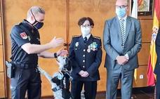 Bull, el perro-policía condecorado por su labor contra el tráfico de drogas