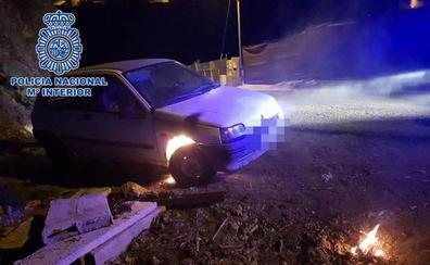 Dos detenidos por quemar coches en Telde