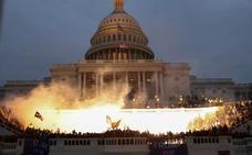 El asalto al Capitolio de EE UU, en imágenes