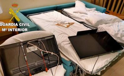 Un turista causa daños en la habitación del hotel en el que se alojaba