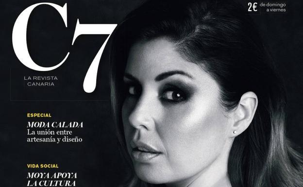 Cristina Ramos, portada de C7