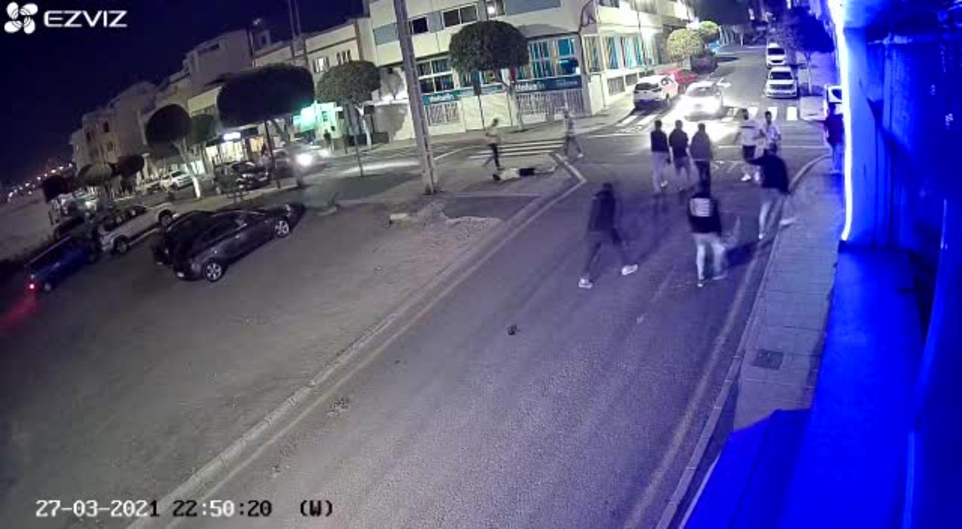 Detienen a un grupo violento formado por ocho jóvenes en Puerto del Rosario