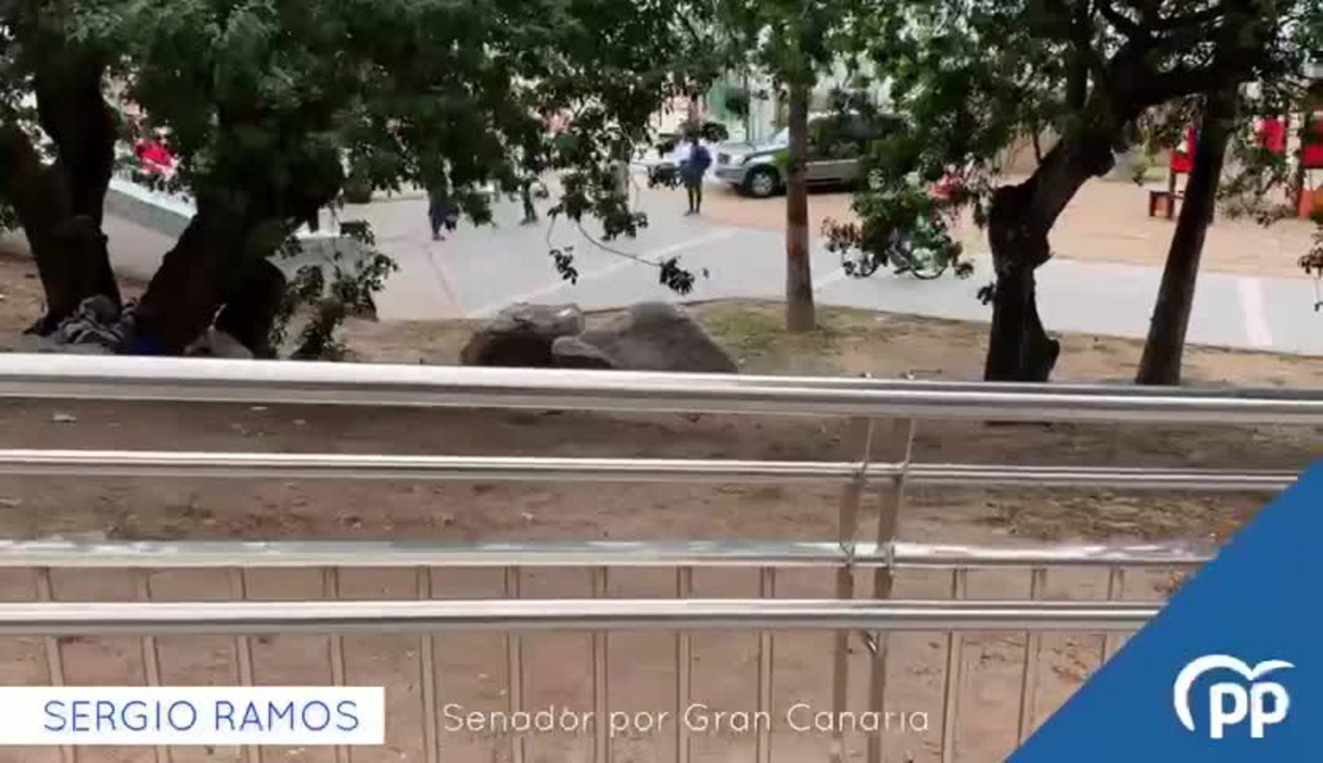 El PP denuncia la presencia de inmigrantes en las calles de Las Palmas de Gran Canaria