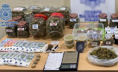 Detenida por vender droga en el barrio de San Gregorio