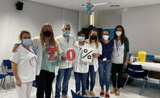 El Hierro tiene vacunada al 70,1% de su población