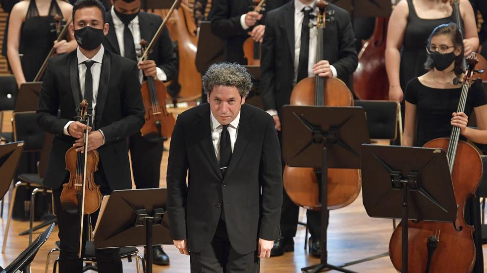 Gustavo Dudamel inaugura el Festival de Música de Canarias en el Auditorio Alfredo Kraus
