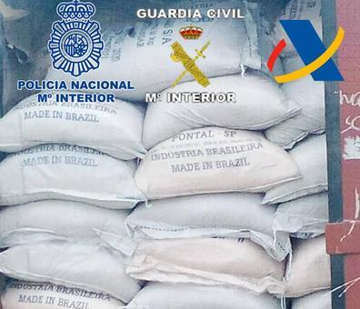 Interceptan en Benín 190 kilos de cocaína procedente de Gran Canaria