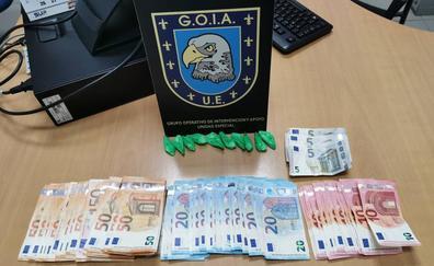 Detenido por posesión de cocaína preparada para su venta