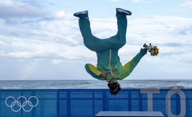 El campeón olímpico que aprendió surf con cajas de pescado