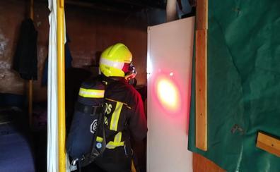 Incendio en un cuarto de azotea utilizado como vivienda
