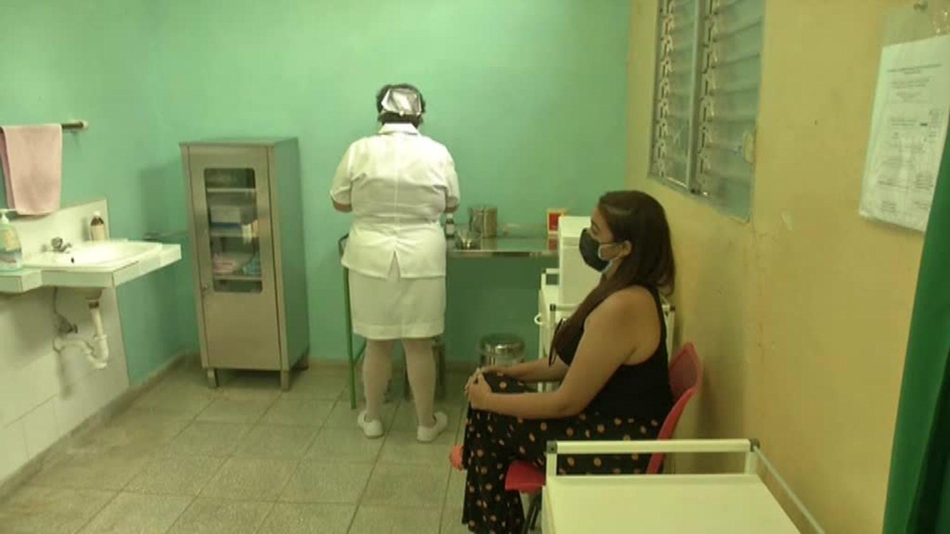 Cuba completa la vacunación en la Habana