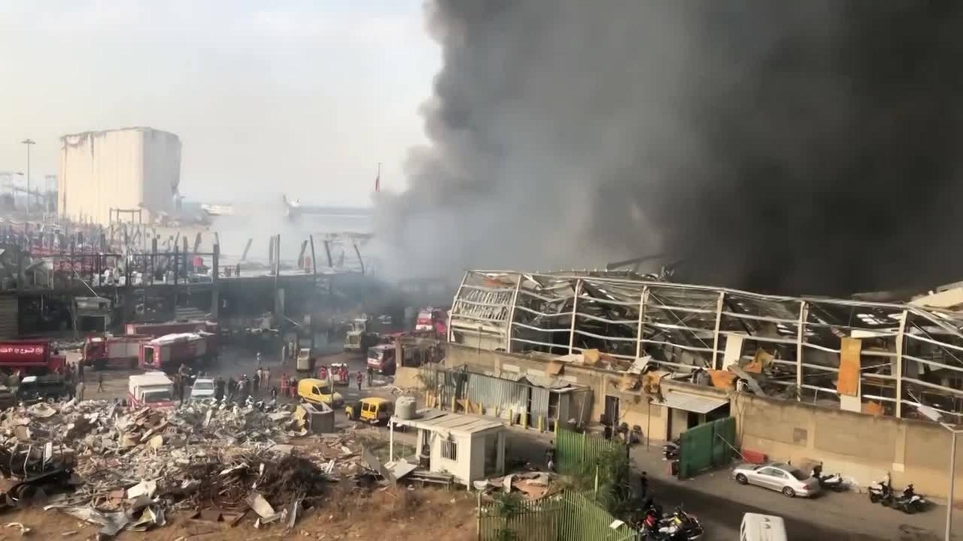 """Borrell pide a Líbano """"resultados"""" sobre la investigación de la explosión"""