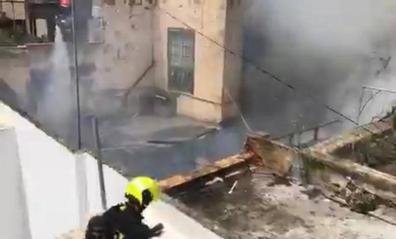Extinguido un incendio en una casa de Arucas