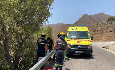 Rescatados dos senderistas deshidratados en Agüimes