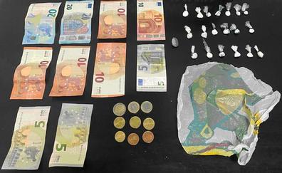 Sorprendidos con más de ocho gramos de cocaína en Arafo