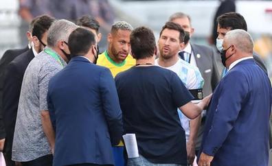El escándalo del Brasil-Argentina queda en manos de la FIFA