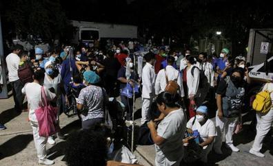 Un terremoto de magnitud 7,1 sacude México y deja al menos un muerto