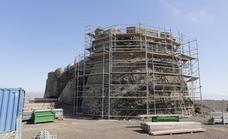 Las obras para rehabilitar el Castillo de Guanapay al fin se retomarán durante octubre