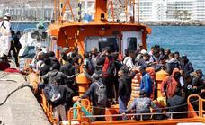 Continúa la llegada de pateras a Canarias