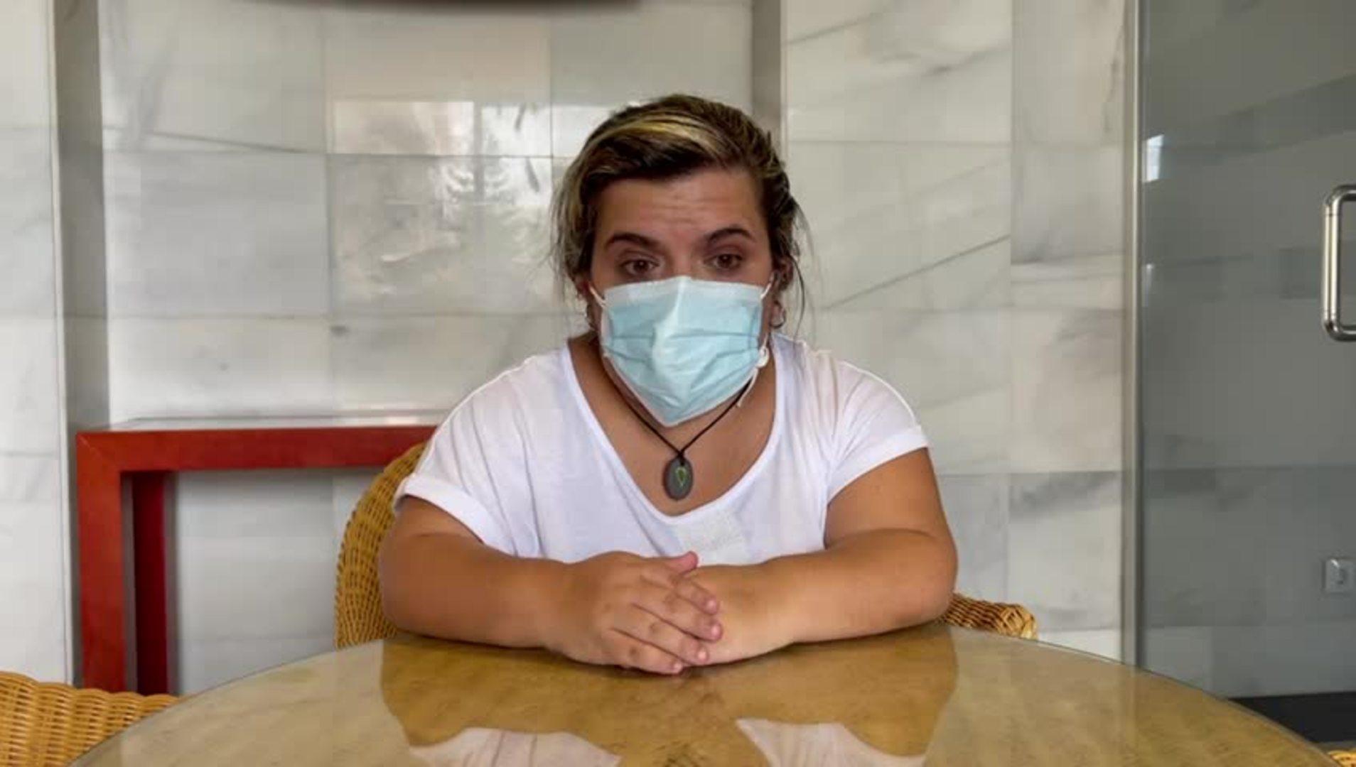 Testimonio de una vecina de El Paso sobre los movimientos sísmicos en La Palma