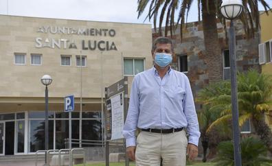 «Santa Lucía es el municipio más judicializado de toda España»