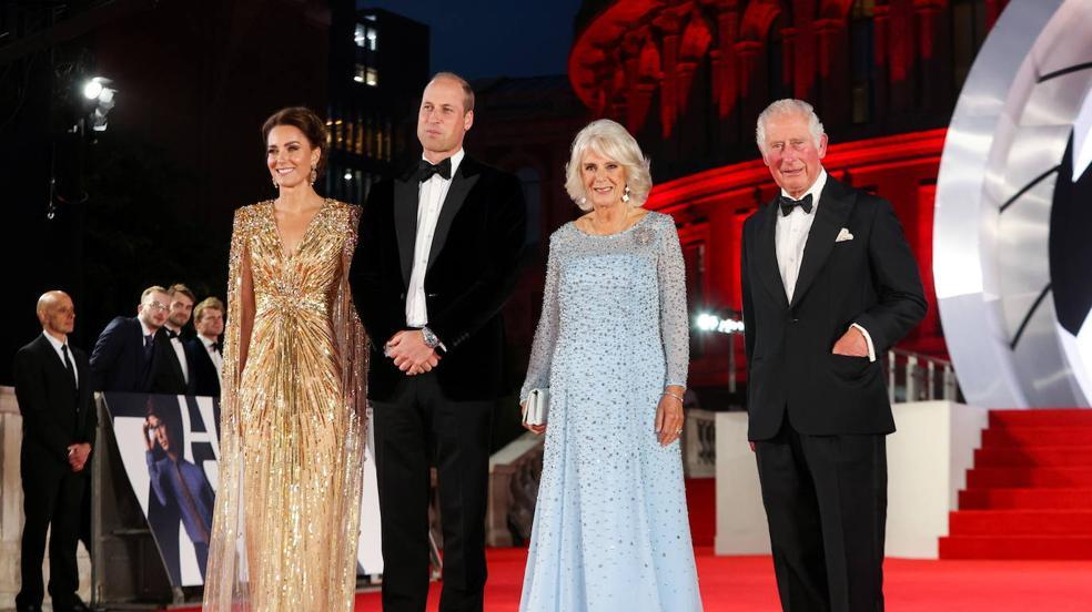 La premier de la nueva película de James Bond, en imágenes