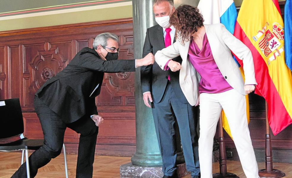 Rodríguez garantiza que las cuentas canarias estarán «en tiempo y forma»