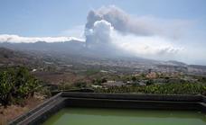 Las cenizas del volcán empeoran la calidad del aire y cierran el aeropuerto
