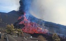 El flanco norte del volcán de La Palma se derrumba y arroja un tercer río de lava