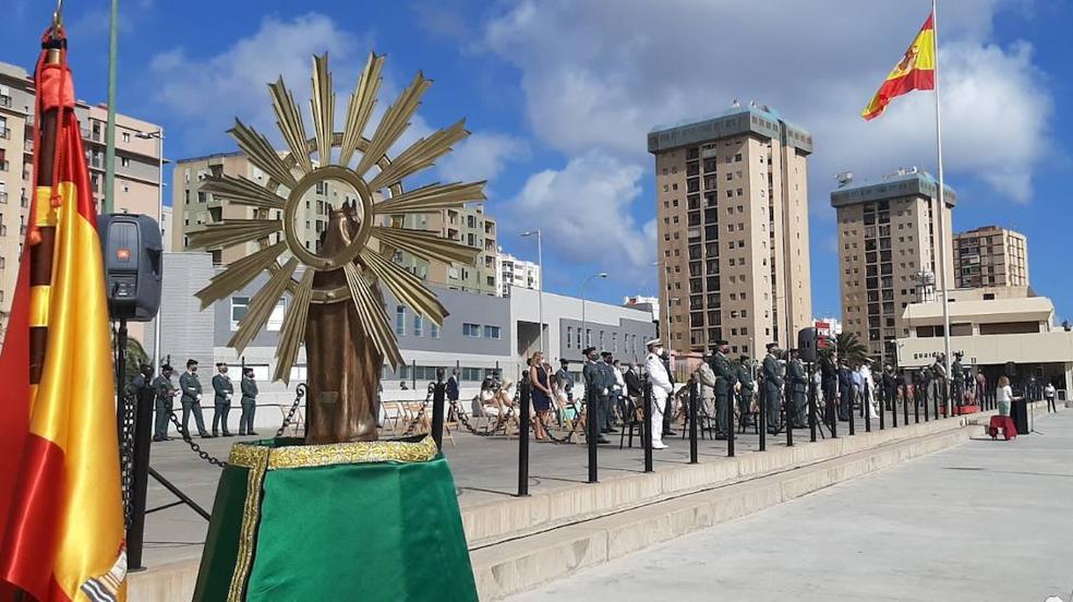La Guardia Civil festeja el día del Pilar en Canarias