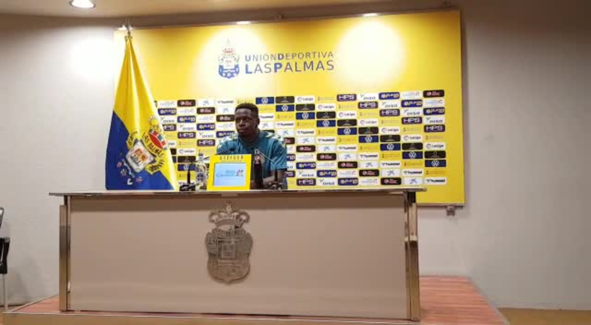 Nuke Mfulu analiza el duelo ante el Tenerife