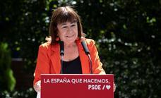 Sánchez mantendrá a Narbona como presidenta del PSOE