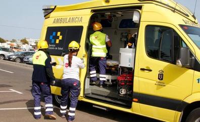 Un niño de diez años resulta herido grave al ser atropellado en Tenerife