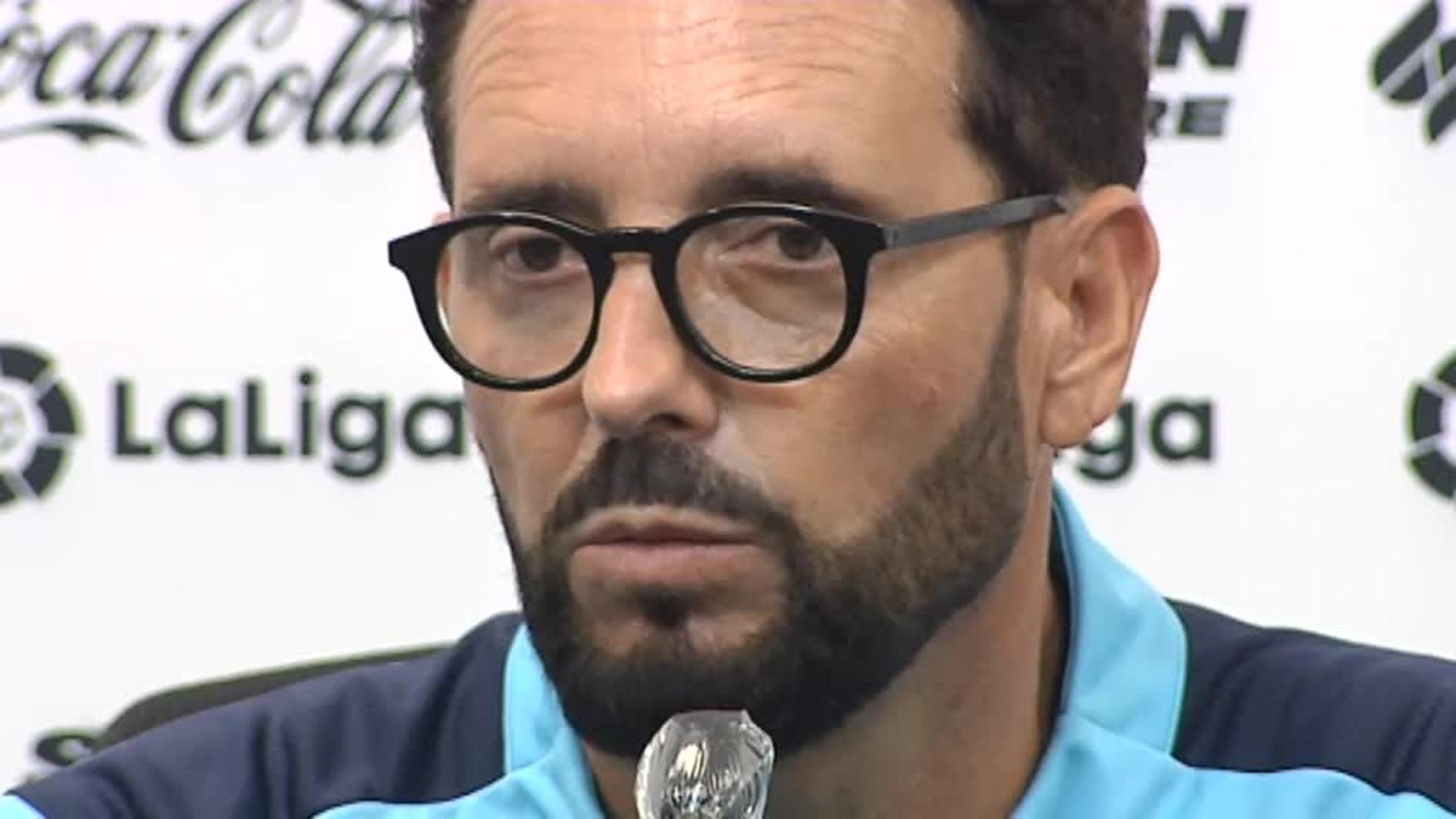 """Bordalás: """"Vamos al Camp Nou con una mentalidad muy ambiciosa"""""""