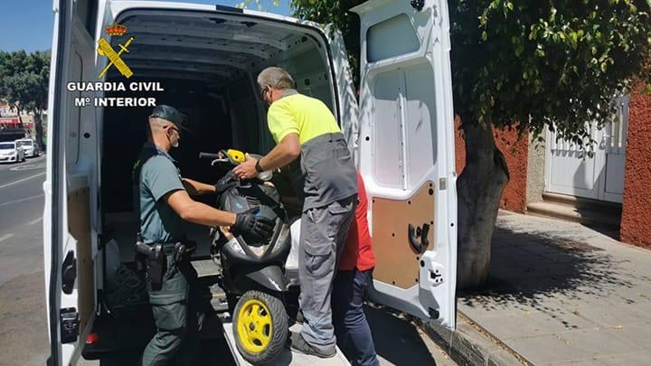 Detenidos por robar en varios municipios de Gran Canaria