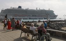 Los cruceristas toman de nuevo la capital