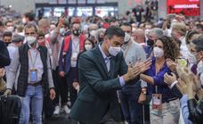 Sánchez entierra el hacha de guerra: «Somos un partido fuerte porque está unido»