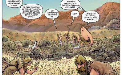 'Isaco y sus aventuras' inicia una serie pionera de cómic infantil sobre Canarias