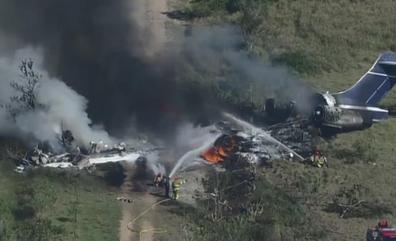 Accidente de avión en Texas sin víctimas