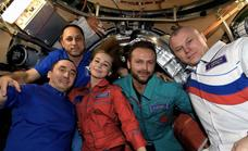 Yulia Peresild y Klim Shipenko ya han vuelto a tierra