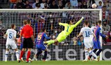 Las mejores imágenes del Barcelona-Dinamo de Kiev